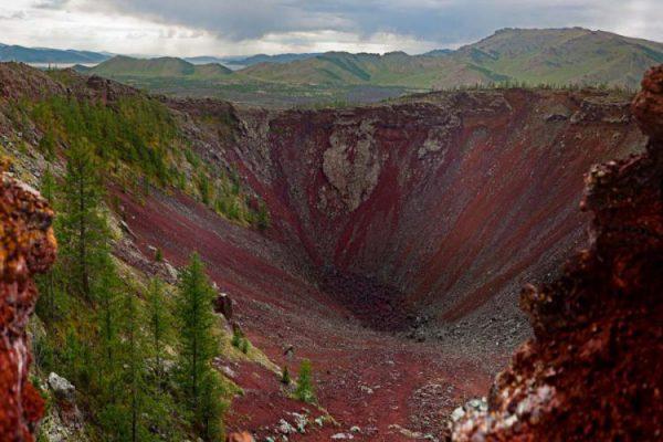 Terkh White Lake Khorgo Volcano